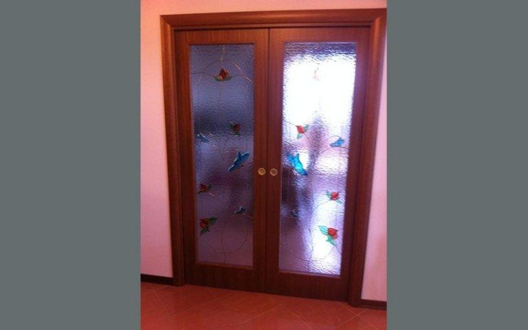 Vetrate porte vetro