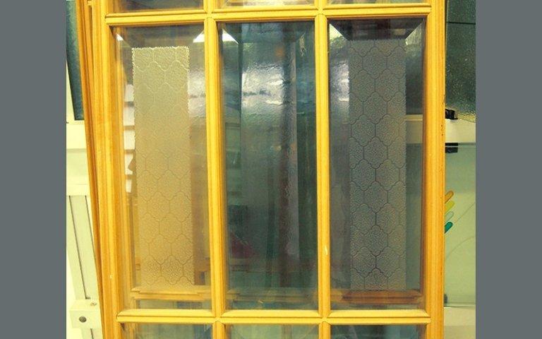 Molatura vetro
