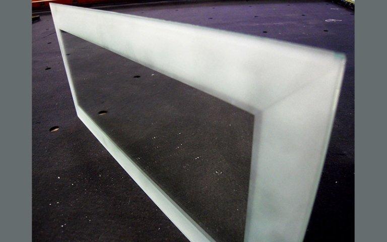 Molatura pannelli vetro