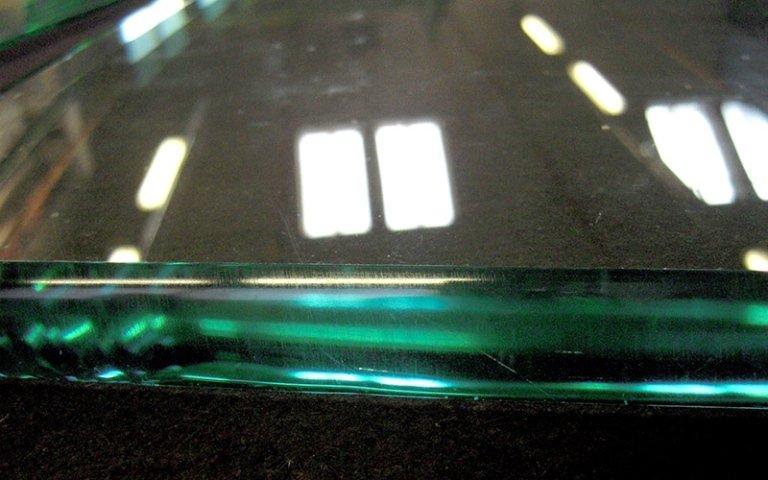 Molatura vetro colorato