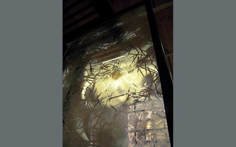 Fusione vetro finestre