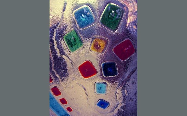 Pannelli vetrofusione geometrie