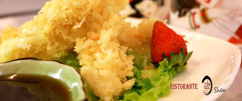 Piatto tipico giapponese a Treviso