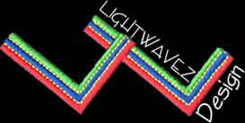 Light wavez design logo