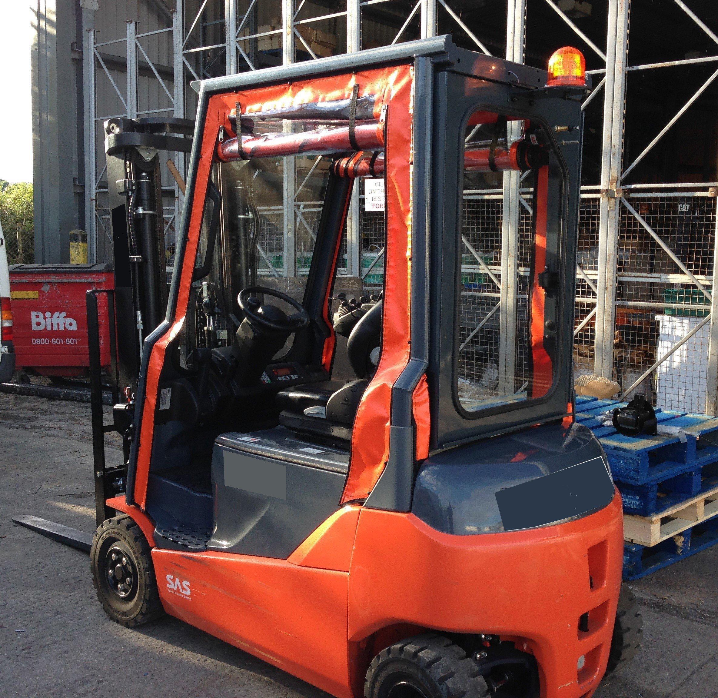 Forklift tarpaulins