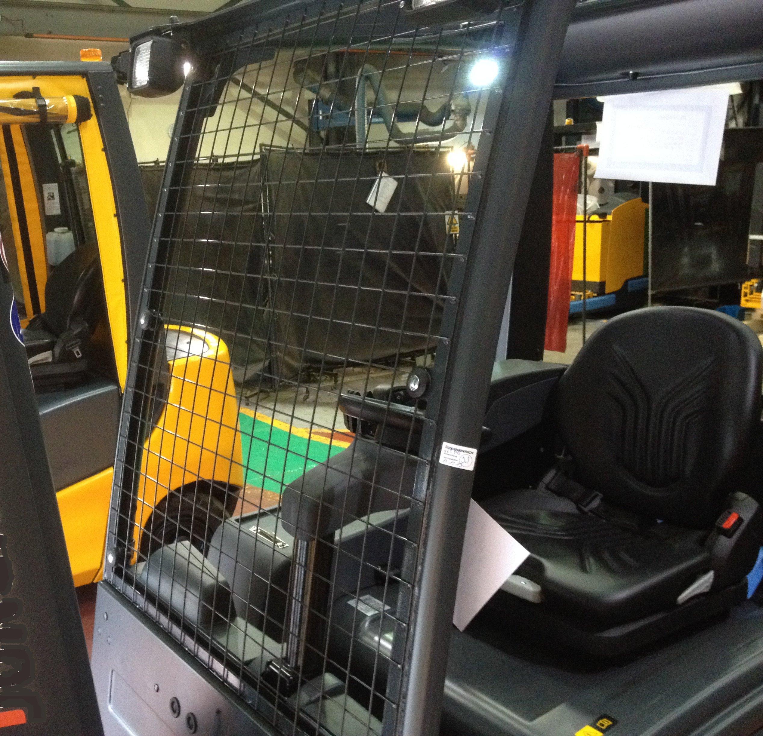 Forklift upholstery