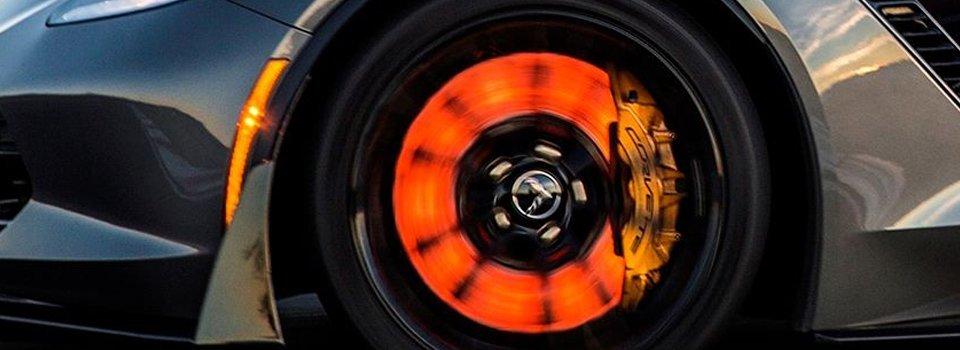 aussie brake and clutch disc brake on sports car