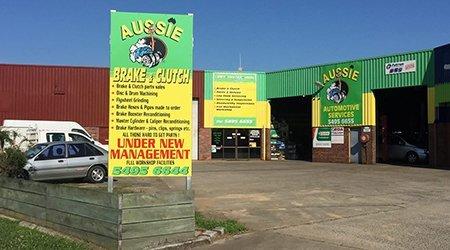 aussie brake and clutch shop front