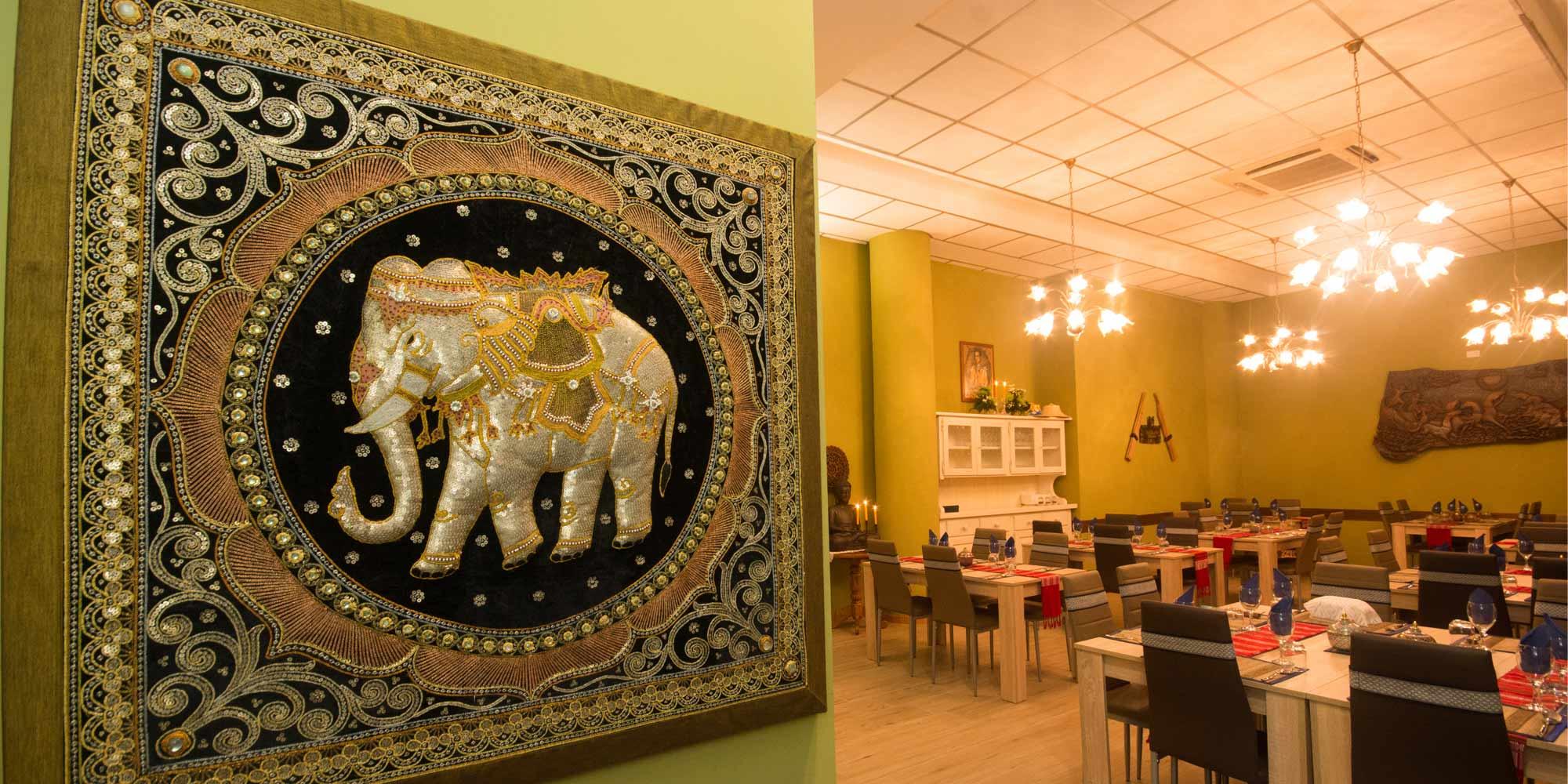 Tavoli da pranzo al Ristorante Thai Seangkan a Verona