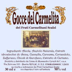Gocce del Carmelita