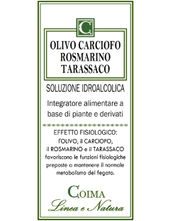 Olivo Carciofo Rosmarino Tarassaco