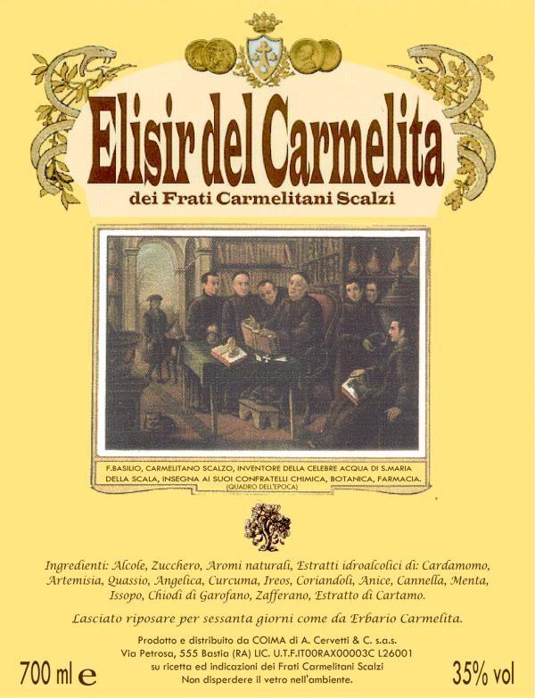 Elisir del Carmelita