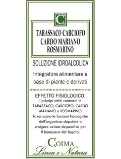 Tarassaco Carciofo Cardo Mariano Rosmarino