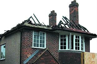 Commercial decorators - Swansea - Andrew Evans Painting Contractors Ltd  - Fire Damage