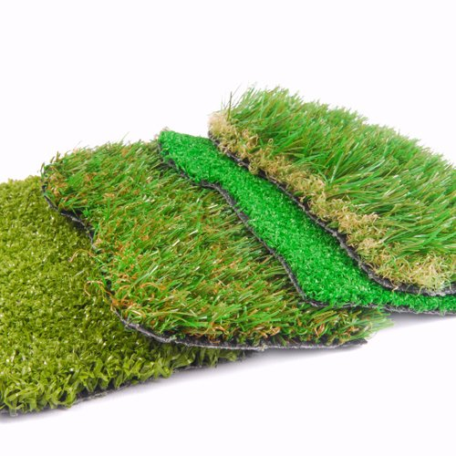 Different kinds of artificial grass