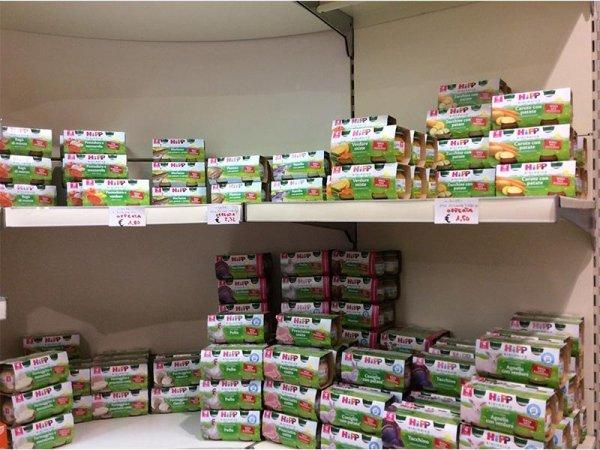 Alimenti bio per bambini
