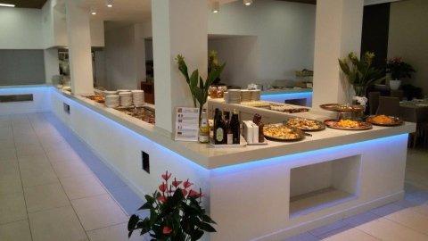Piani area buffet in quarella Bianco Paloma