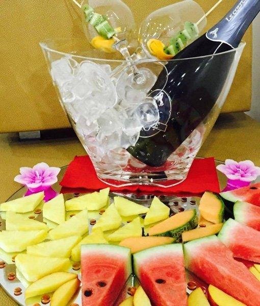 spiedini frutta aperitivo