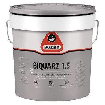 BIQUARZ 1.5 Rivestimento a spessore antialga, acrilico, lamato, per esterni