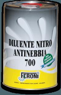 FERONI DILUENTE NITRO ANTINEBBIA 700 PER PULIZIA E DILUIZIONE VERNICI