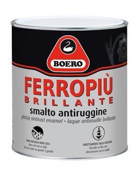 BOERO FERROPIU' BRILLANTE SMALTO ANTIRUGGINE