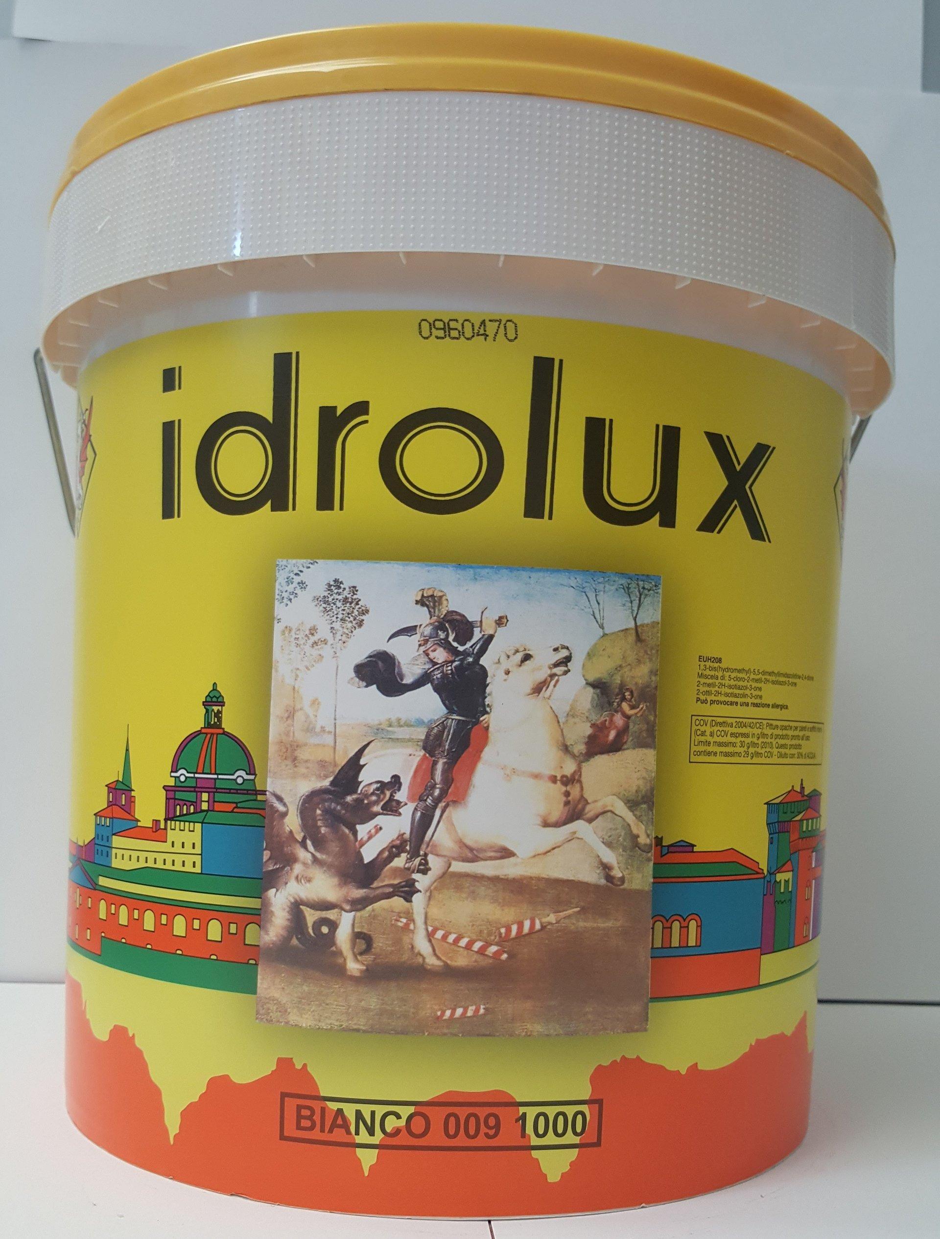 IDROLUX INDUSTRIA COLORI FREDDI S. GIORGIO IDROPITTURA LAVABILE PER INTERNI, TRASPIRANTE.