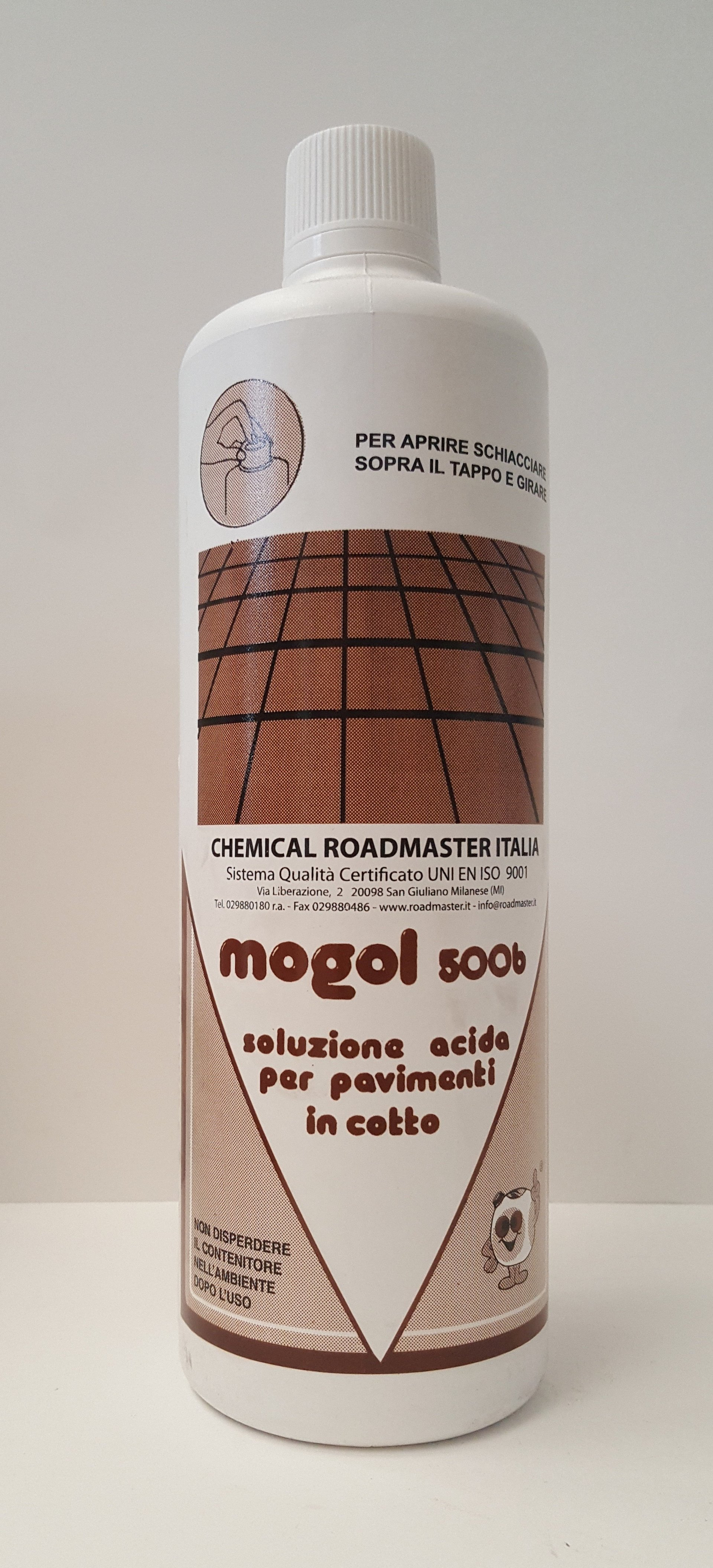 MOGOL 5006 SOLUZIONE ACIDA PER PAVIMENTI IN COTTO