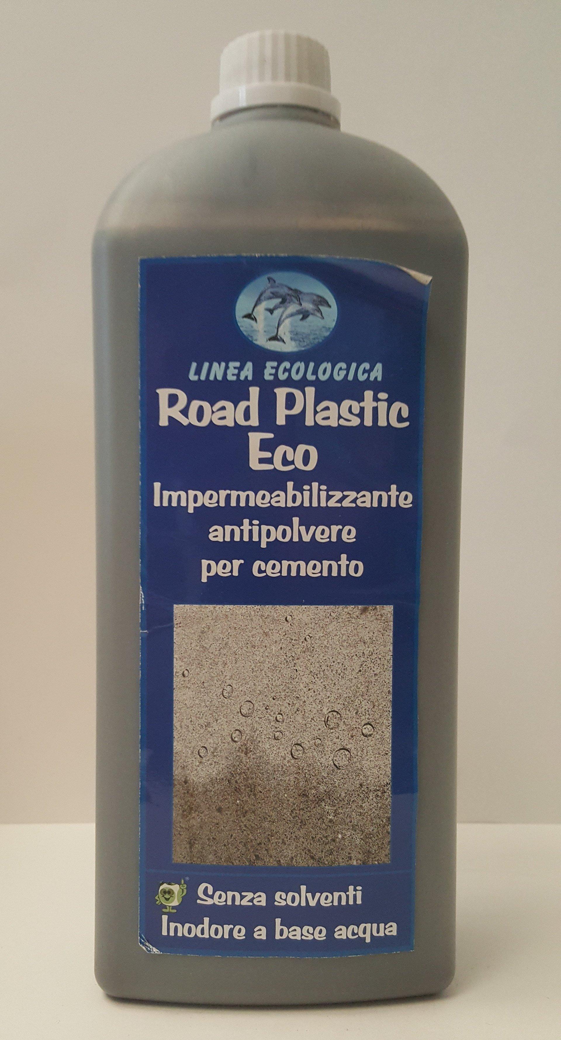 ROAD PLASTIC ECO IMPERMEABILIZZANTE ANTIPOLVERE PER CEMENTO