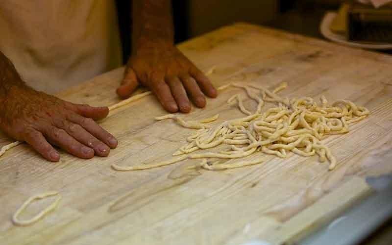 primi piatti di pasta fresca