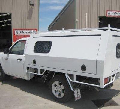 stallion transport engineering truck