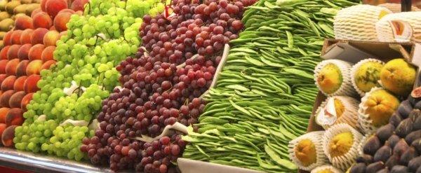 alimenti biologici freschi
