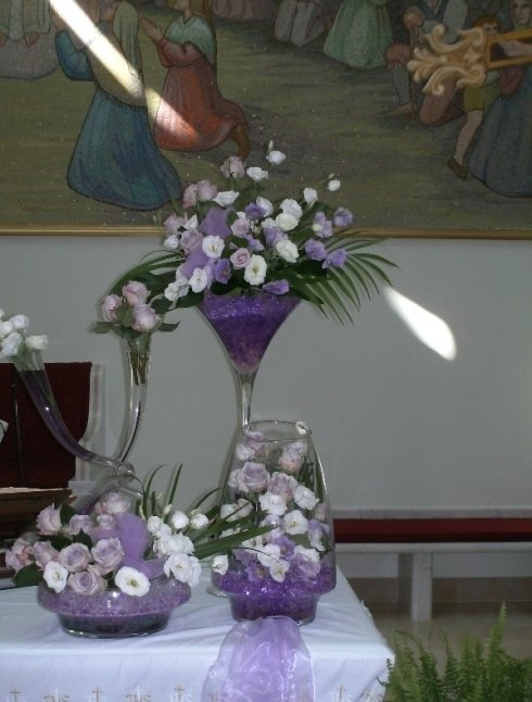 addobbi floreali lilla