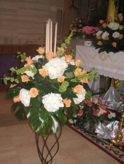 addobbli floreali ortensie