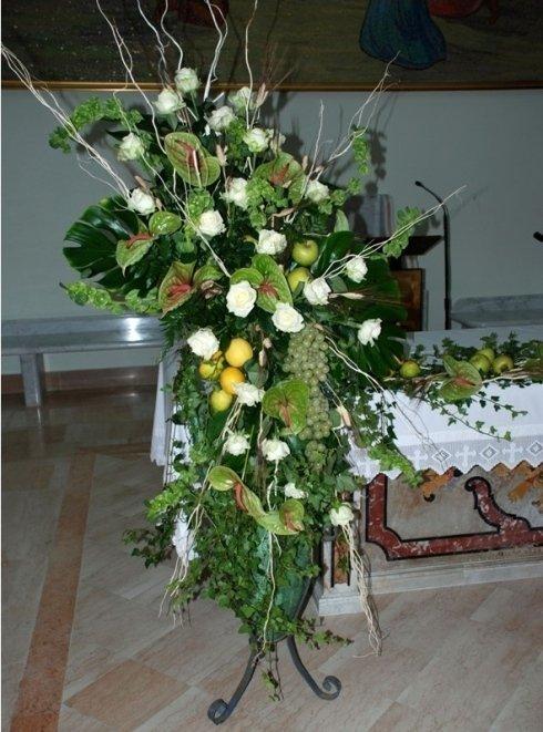 anfore con fiori