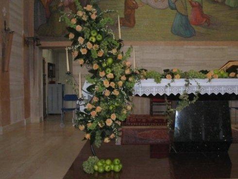 candelabri con frutta