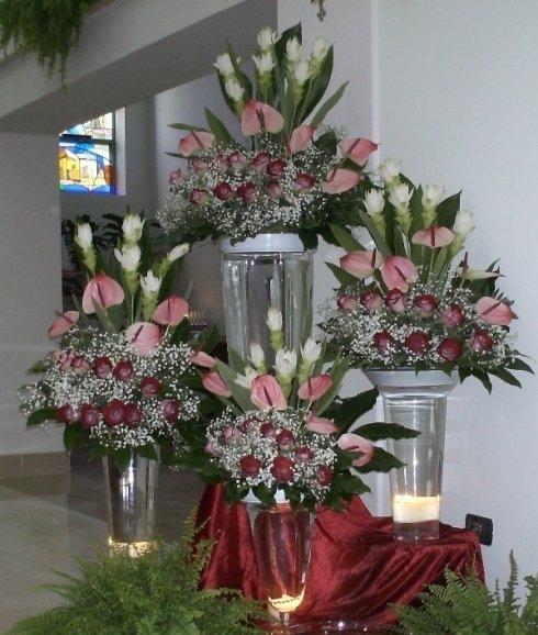 fiori in coppe