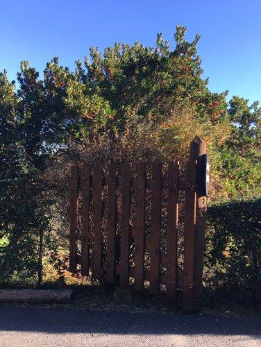 recinzione in legno