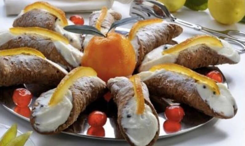 cannoli siciliani originali a Salerno