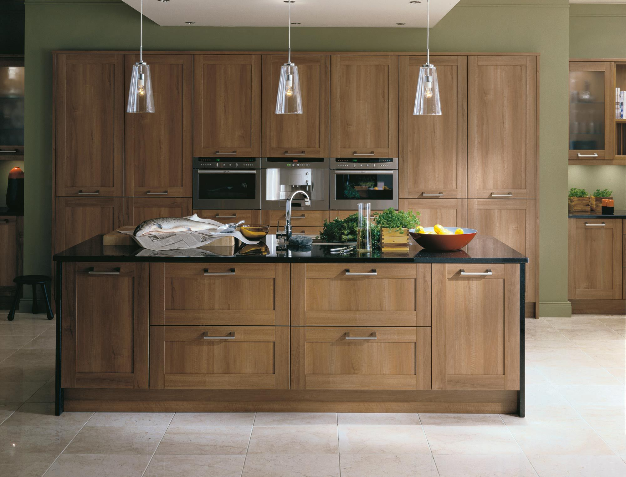 Black Walnut Kitchen Cabinets The Kitchen And Bedroom Studio Installers Of Quality Fitted
