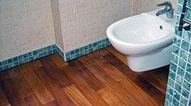 sostituzione pavimento in legno