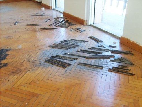 sostituzione pavimento