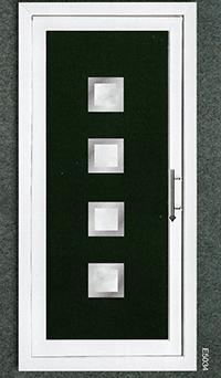 uniquely styled door
