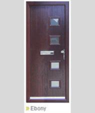 door with multiple blocks