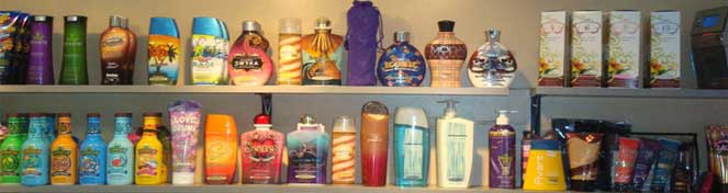 lotions in a order