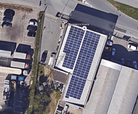 Impianto fotovoltaico LAVASECCO KOALA