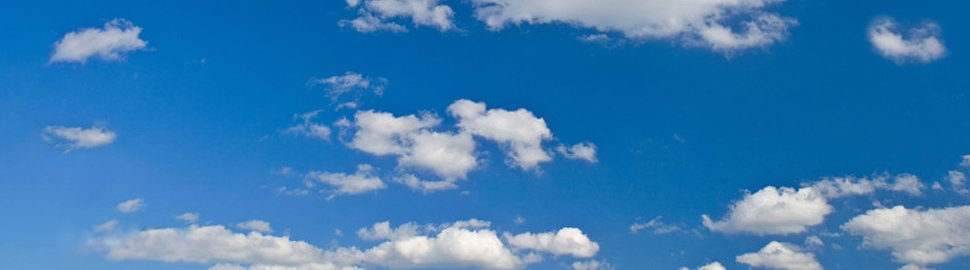 Conceptual image of tax planning services - clear, blue skies