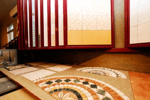 Rivestimenti a mosaico prato
