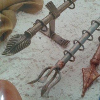 Bastoni in ferro battuto