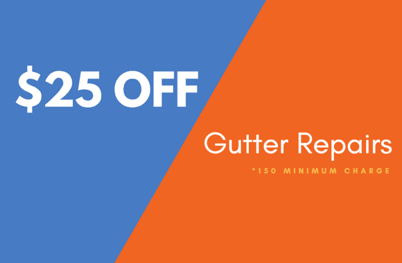 Gutter Repair Special in Minneapolis