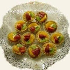 pasticcino frutta, pasta alla frutta, fragola